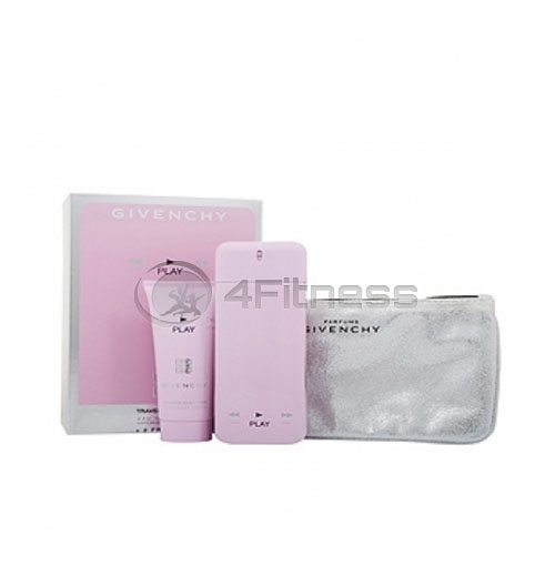 Givenchy Play For Her EDP 75 ml + BL 75 ml + несесер D   SET