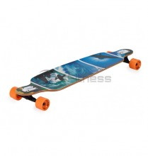 Longbord-Drop-Shape-Surfer-Blue