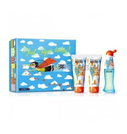 Moschino I Love Love EDT 50 ml + BL 100 ml +SG 100 ml  D  SET
