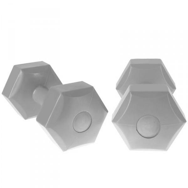 Хексагонални гири Addie 2 x 4 кг – чифт