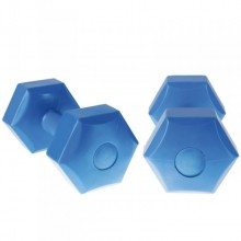 Хексагонални гири Addie 2 x 5 кг - чифт