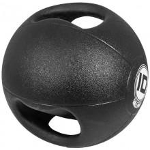 Медицинска топка с двоен захват - 10 кг.