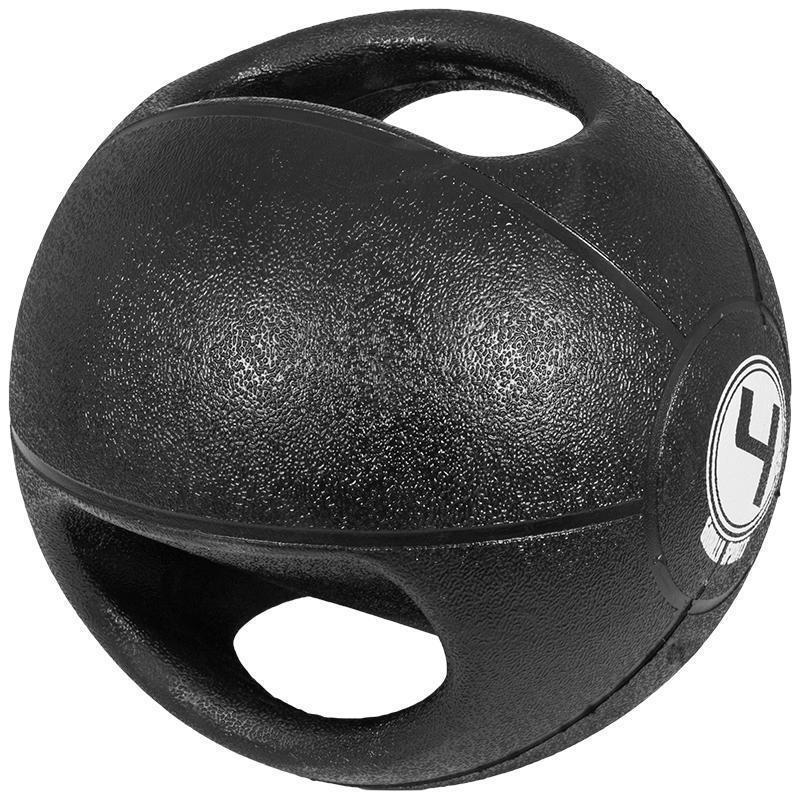 Медицинска топка с двоен захват – 4 кг.