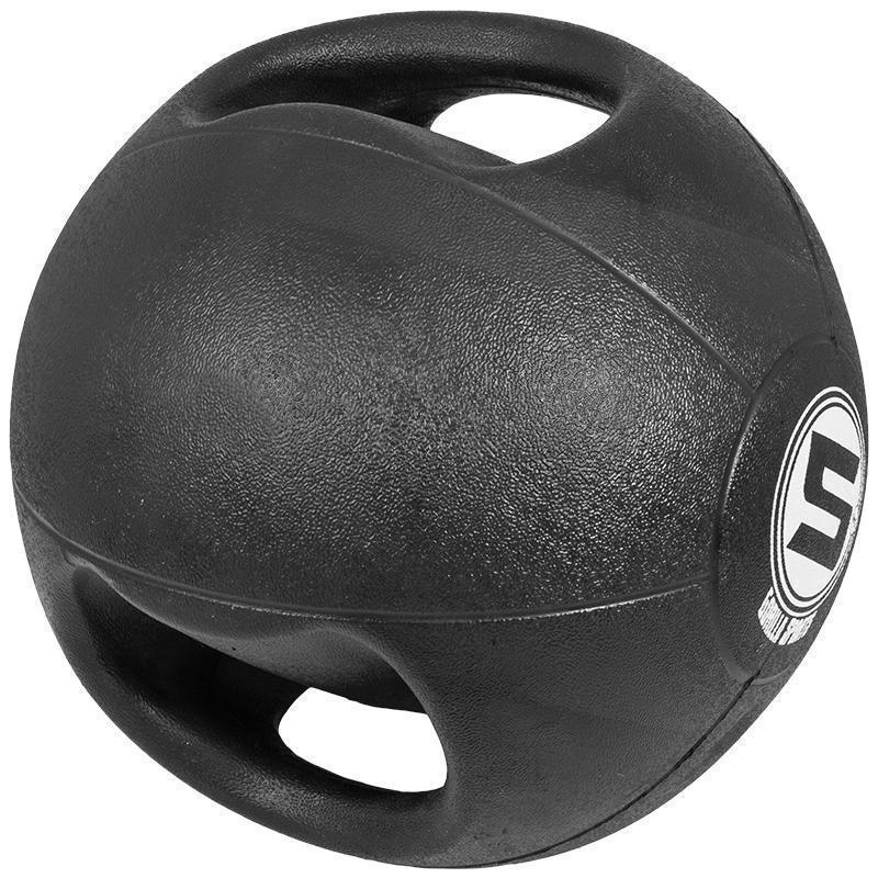 Медицинска топка с двоен захват – 5 кг.