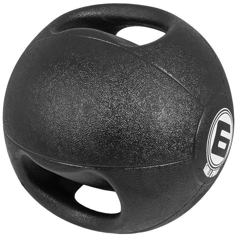 Медицинска топка с двоен захват – 6 кг.