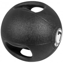 Медицинска топка с двоен захват - 7 кг.