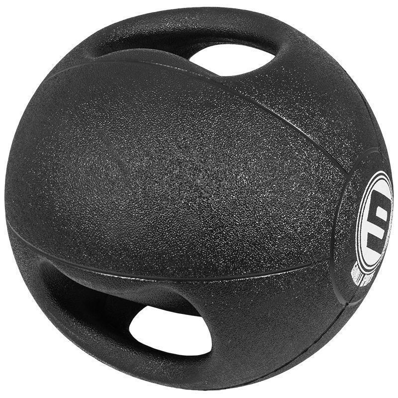 Медицинска топка с двоен захват – 9 кг.