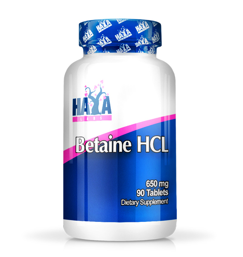 Betaine HCL 650мг. / 90 Табл.