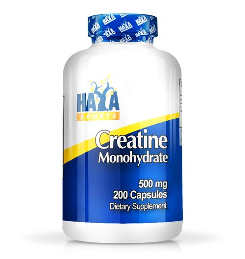 Sports Creatine Monohydrate 500мг. / 200 Капс.
