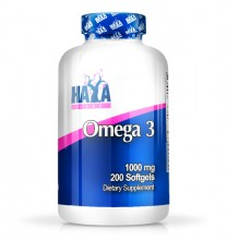 HAYA LABS Omega 3 1000мг. / 200 Softgels