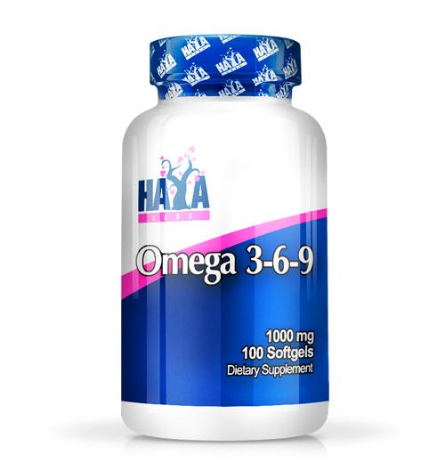 Omega 3-6-9 / 100 Softgels
