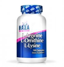 L-Arginine / L-Ornithine / L-Lysine 100 Капс.