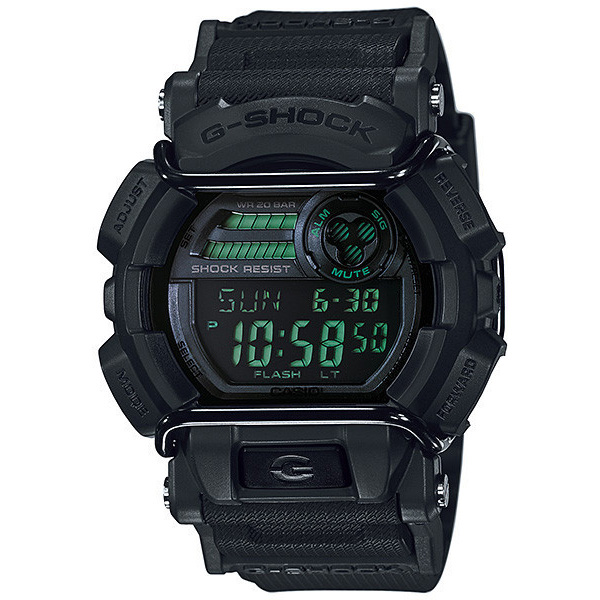 Мъжки часовник Casio G-Shock Mission Black GD-400MB-1ER