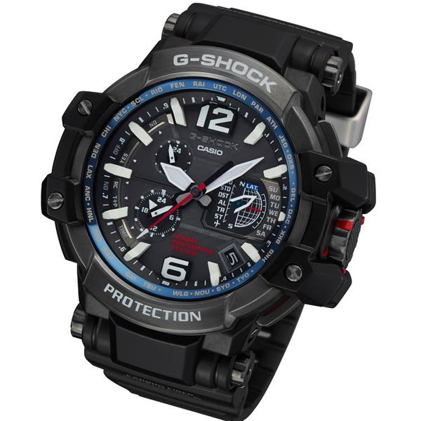 Мъжки часовник Casio G-Shock GPS Hybrid Gravitymaster GPW-1000-1AER
