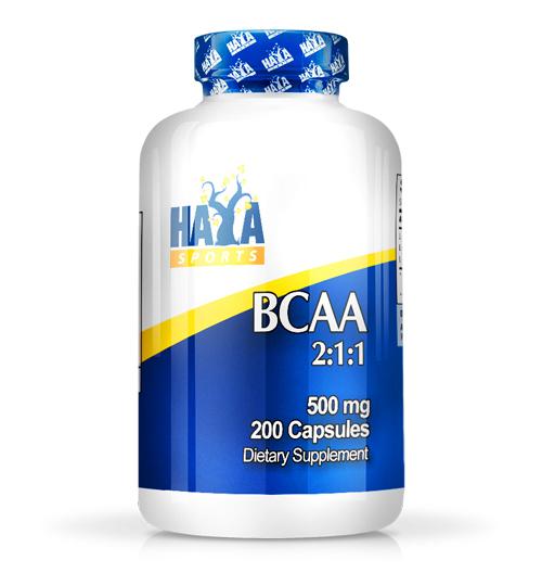 Sports BCAA 2:1:1 500мг. / 200 Капс.