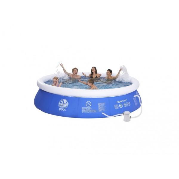 Надуваем басейн 360 х 90 см + система за филтрация