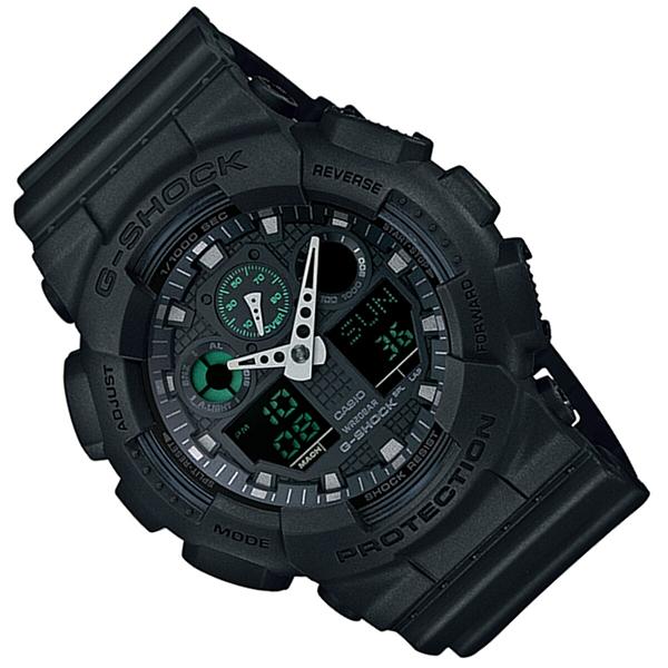 Мъжки часовник Casio G-Shock Mission Black GA-100MB-1A