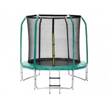 trampoline-skyjump-244-cm-inside-net-ladder