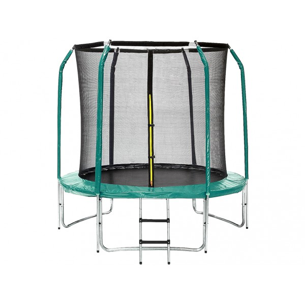 trampoline-skyjump-244-cm-inside-net-ladder