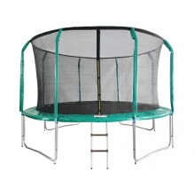 trampoline-skyjump-396-cm-inside-net-ladder