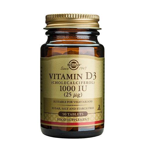 Vitamin D-3 1000 IU / 90 Табл.