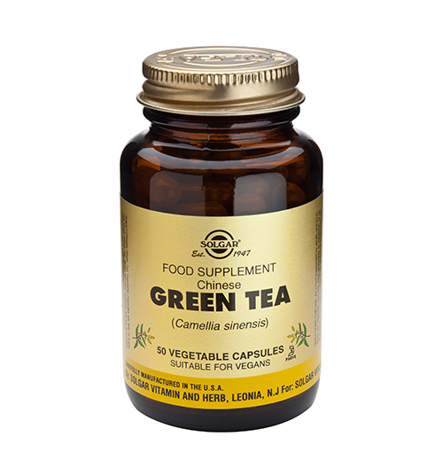 Green Tea, Chinese, F.P. 520 мг. / 50 Капс.