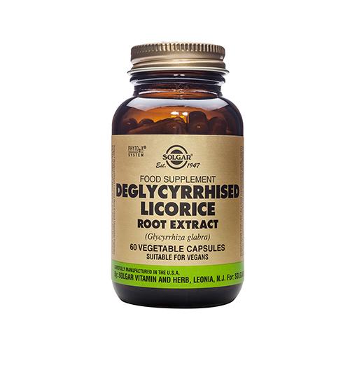 Deglycyrrhised Licorice Root Extract, S.F.P. 60 Капс.