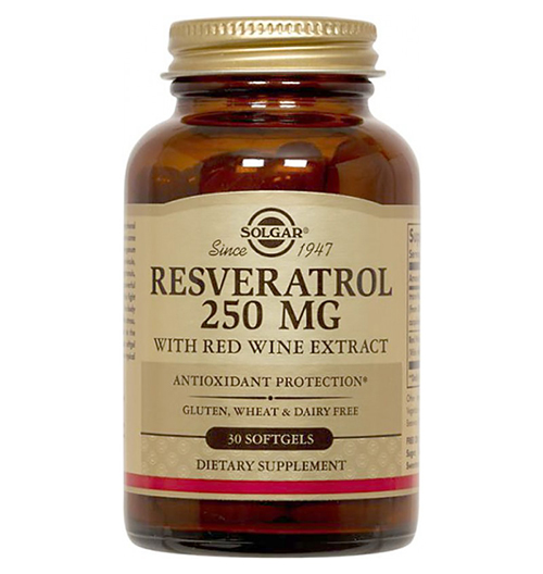Resveratrol 250мг. / 30 Softgels