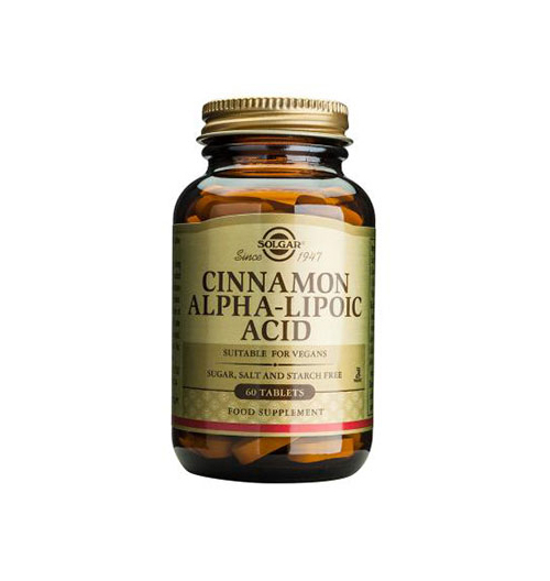 Cinnamon Alpha Lipoic Acid 60 Табл.