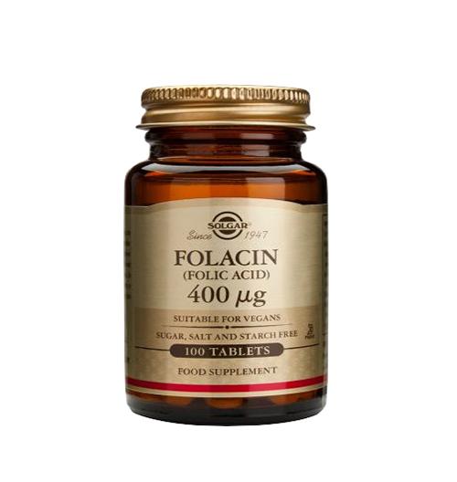 Folic Acid 400мкг. / 100 Табл.
