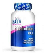 Yohimbine HCL 2.5 мг. / 100 Капс.