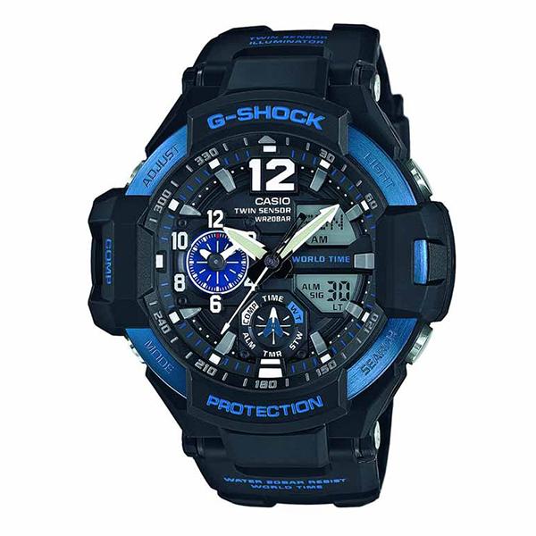 Мъжки часовник Casio G-Shock Gravitymaster GA-1100-2BER