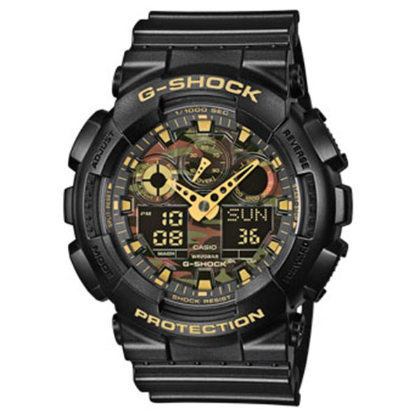 Мъжки часовник Casio G-Shock GA-100CF-1A9ER