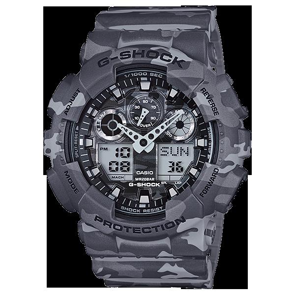 Мъжки часовник Casio G-Shock GA-100CM-8AER