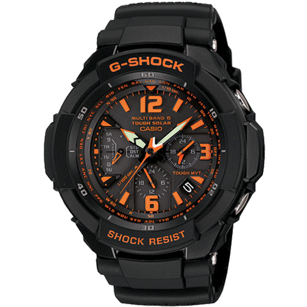 Мъжки часовник Casio G-Shock Wave Ceptor Solar GW-3000B-1AER
