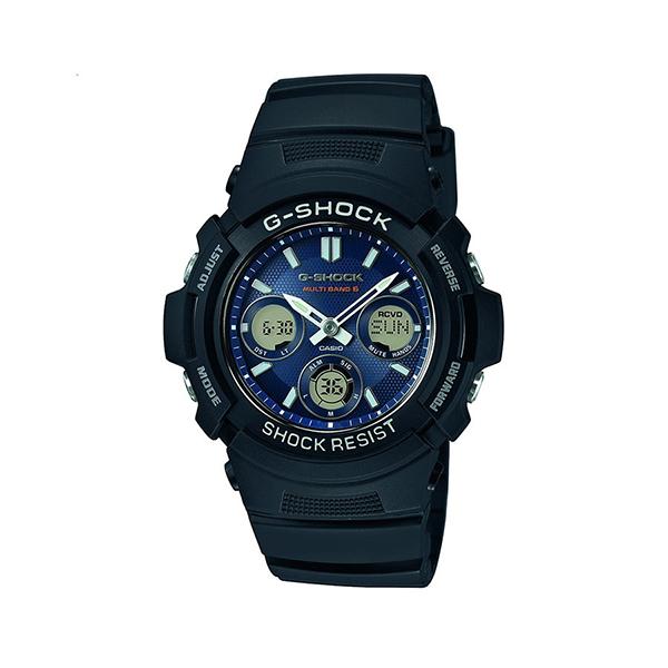 Мъжки часовник Casio G-Shock Wave Ceptor Solar AWG-M100SB-2AER