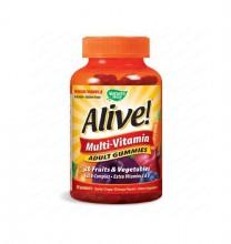 ALIVE! / АЛАЙВ МУЛТИВИТАМИНИ ЗА ВЪЗРАСТНИ 100 мг. Х 90 Желирани Табл.