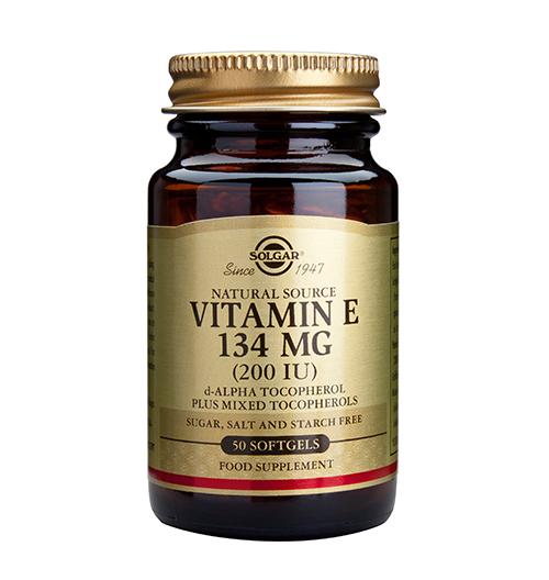 Vitamin E 200 IU / 50 Softgels