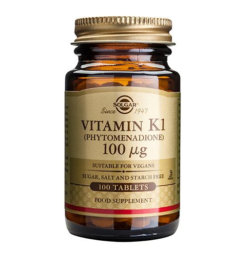 Vitamin K 100 мкг. / 100 Табл.