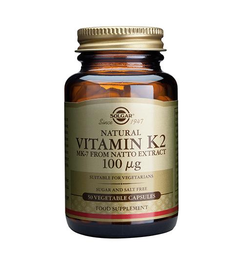 Vitamin K2 100 мкг. / 50 Капс.