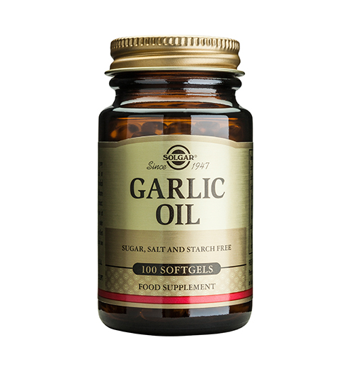 Garlic Oil, Reduced Odour / 100 Soft.
