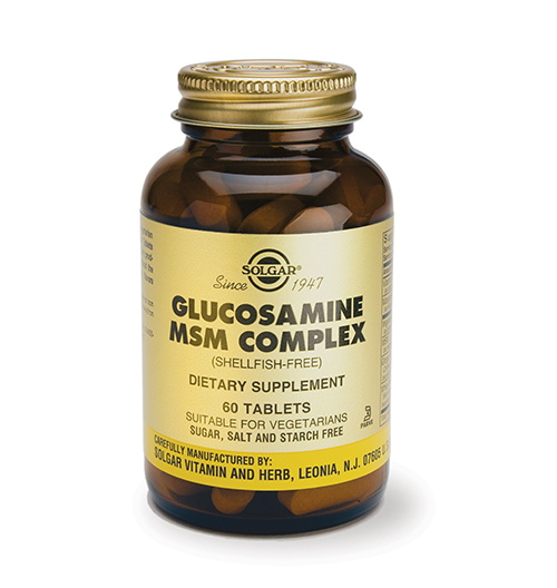Glucosamine MSM Complex / 60 Табл.