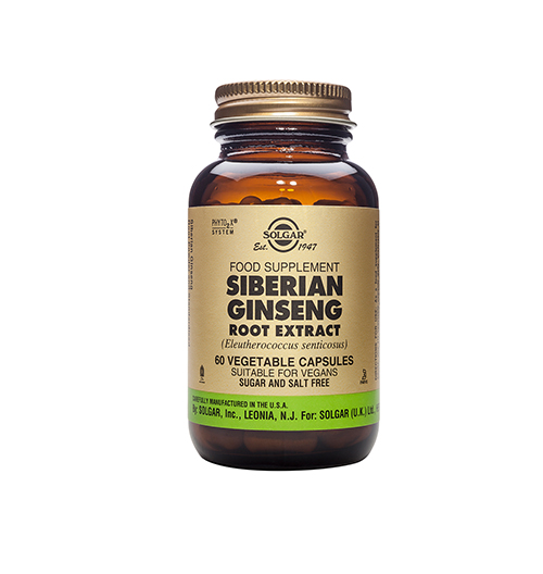 Siberian Ginseng Root Extract, S.F.P. 60 Капс.