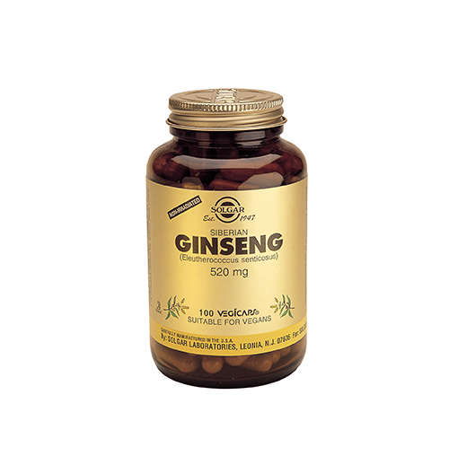 Siberian Ginseng 520 мг. / 100 Капс.