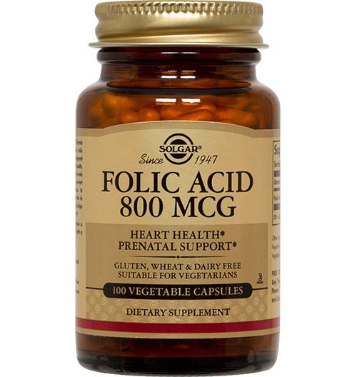 Folic Acid 800 мкг. / 100 Табл.