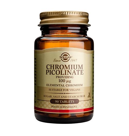 Chromium Picolinate 100мкг. / 90 Табл.