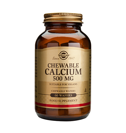 Chewable Calcium 500 мг. / 60 Waffs.