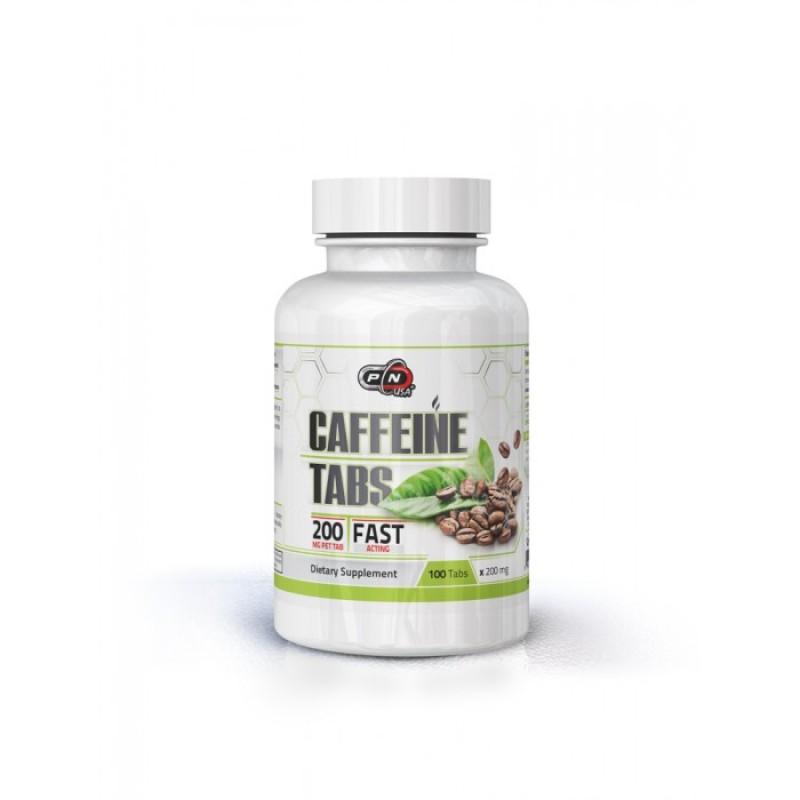 CAFFEINE TABS 200 МГ. – 100 ТАБЛ.