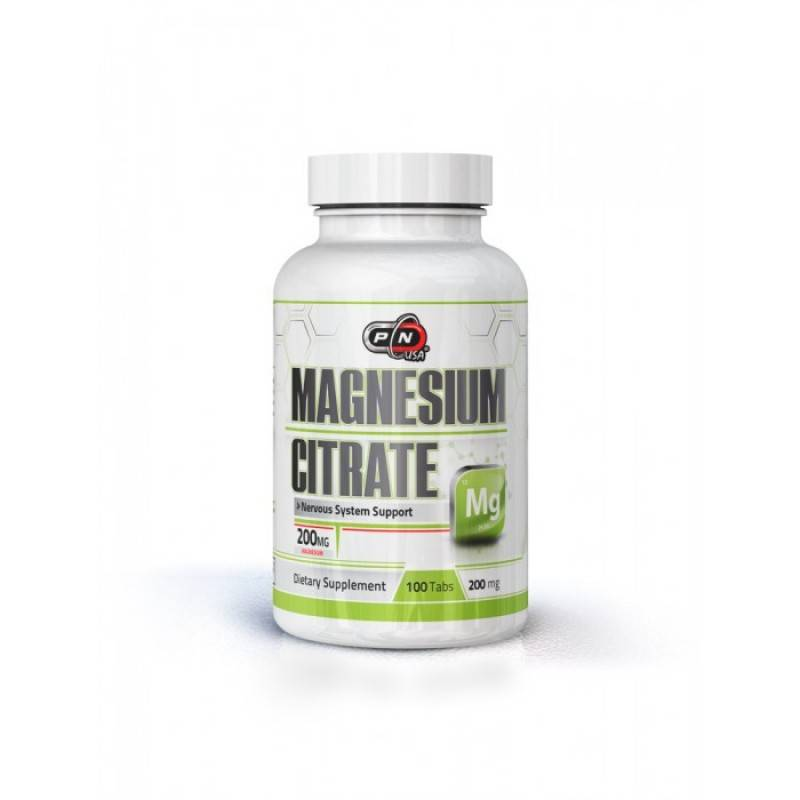 MAGNESIUM CITRATE – 200 МГ. – 100 ТАБЛ.
