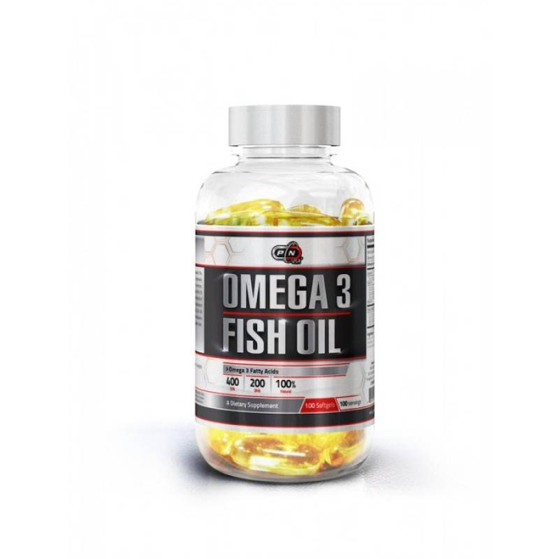 OMEGA 3 FISH OIL – 100 дражета